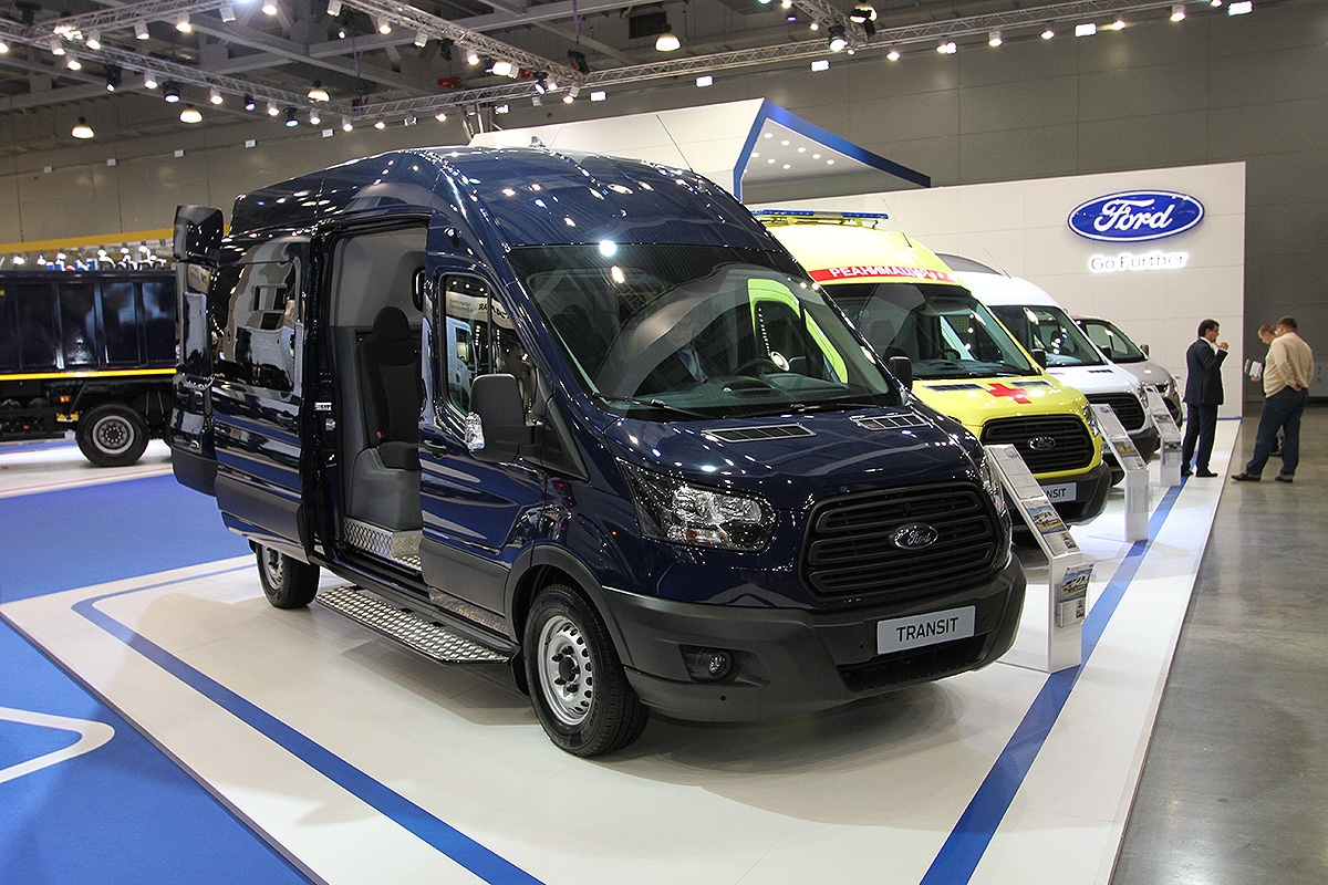 Ford Transit с сервисом Ford Telematic
