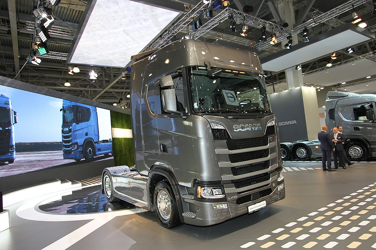 Российская премьера Scania Next Generation